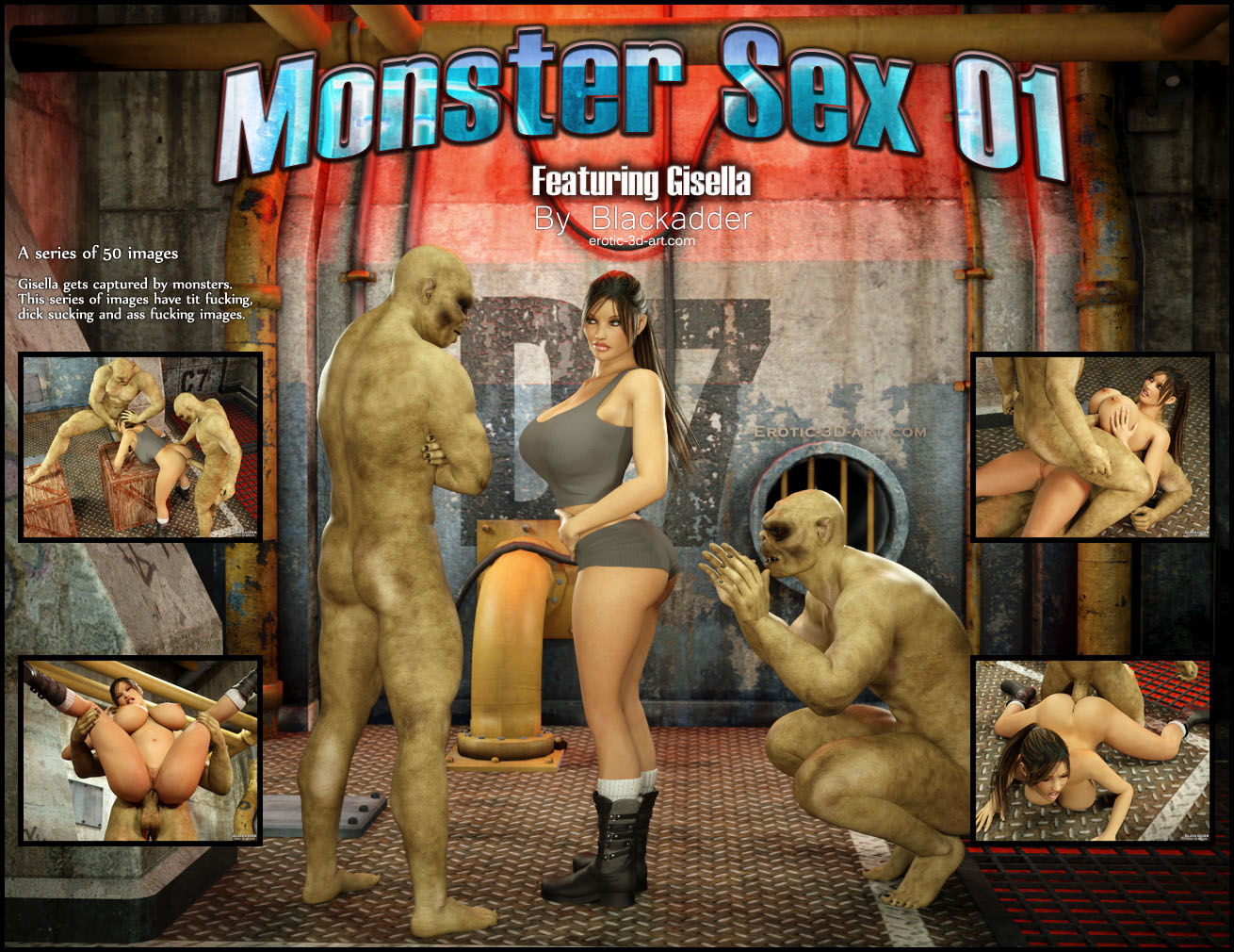 Blackadder- Monster sex 01
