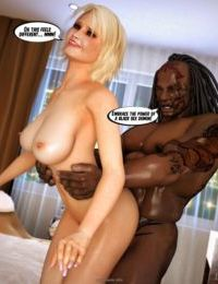Interracialsex3D – Busty Blonde