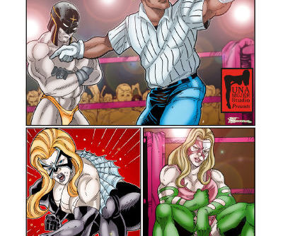 MonsterBabeCentral- Lucha Libro XXX Fight 12