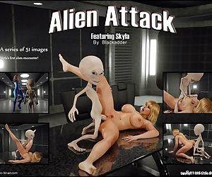 Blackadder- Alien Attack