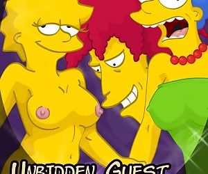 Unbidden Guest At Simpsons House