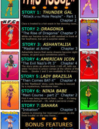 9 Super Heroines- The Magazine 10