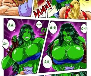 DR.Zexxck- Alex vs. She Hulk