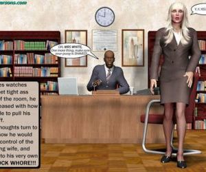 John Persons – Blonde In Office 1