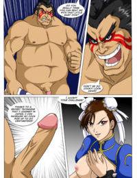 Chun-lis Combat
