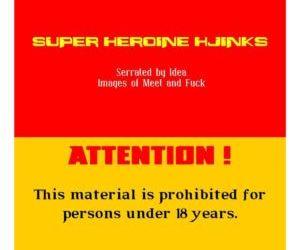 Parody- Super Heroine Hijinks