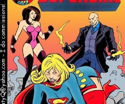 Supergirl Sex Slave- Double Trouble
