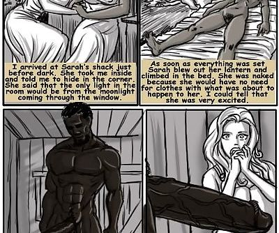illustrated interracial- Plantation Living