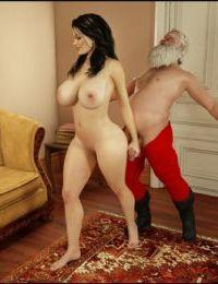 Blackadder- Santa is Cumming