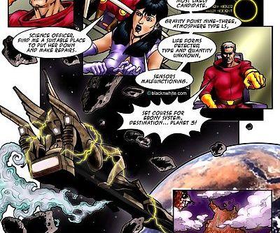 Space Sluts 1- Blacknwhite