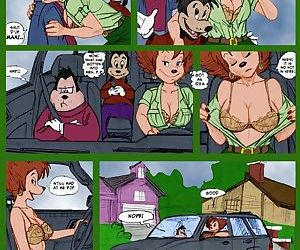 PBX- Goof Troop Peggy Cums Camping