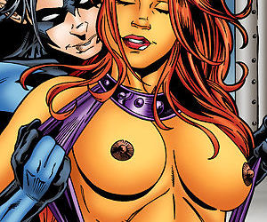 Teen Titans- Starfire And Nightwing