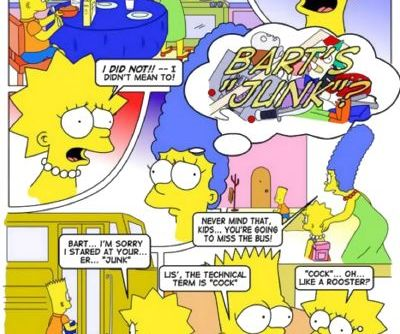 The Simpsons – Lisa lust!
