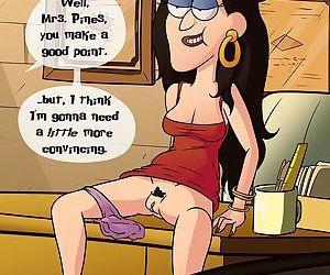 Gravity Falls- Parent Teacher Meeting