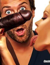 Hotwifecomics- Cuckold Toons