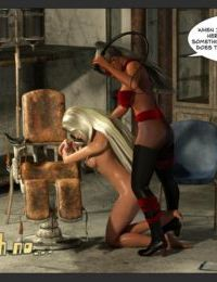 Zuleyka- Ultragirl and Futa Panther