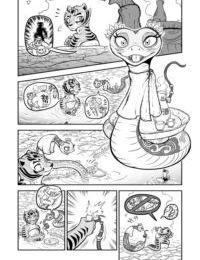 Zen Migawa – The Tiger Lilies in Bloom
