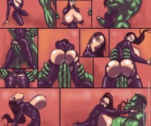 Hulk VS Black Widow