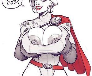 Power Girl On Darkseid - part 2