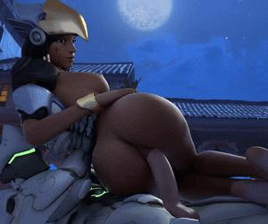 pharah riding