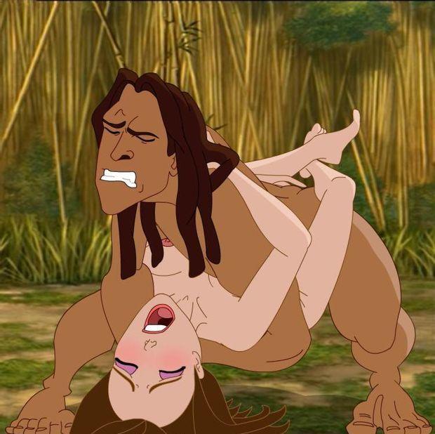 Tarzan and Jane 6/6
