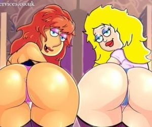 Sexy Cartoon Ass 4