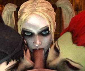 3D Toon Blowjob Porn