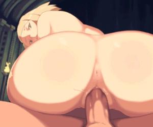 blonde milf booty