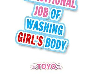 Traditional Job of Washing Girls Body - part 8