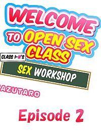 Welcome To Open Sex Class ~Class 1-Hs Sex Workshop~ - part 3