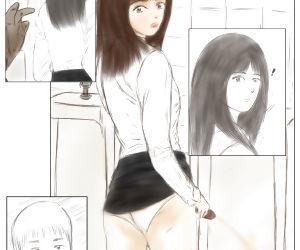 Crossdress teacher in toilet : toilet rape