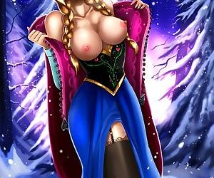 Anna frozen cartoon porn