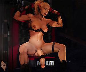 Muscled dickgirls porn