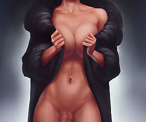 Dickgirl drawings nude