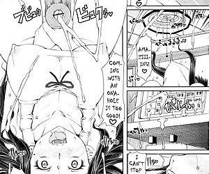 Maid dickgirl cum comic