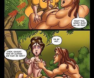 Tarzan knows how to fuck in the jungle - part 5