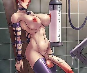 Futa cocks pumped dry - part 14