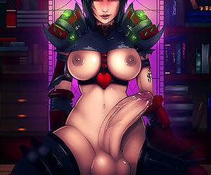 Gamer futanari porn