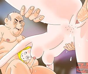 Hot cartoon fucking action - part 6