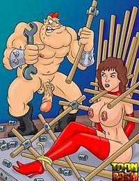 Hot bdsm cartoon characteres everywhere - part 6