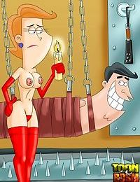 Hot bdsm cartoon characteres everywhere - part 2