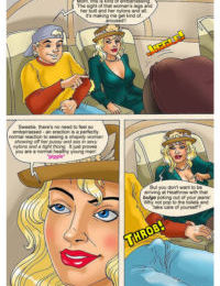 Mom Son on Plane