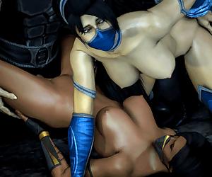 Mortal Kombat- Jade and Kitana