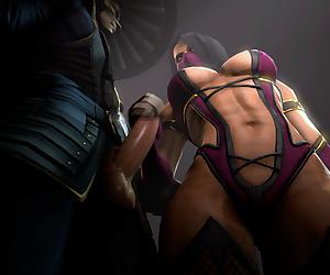 Mortal Kombat -Andreygovno - Millena- Raiden