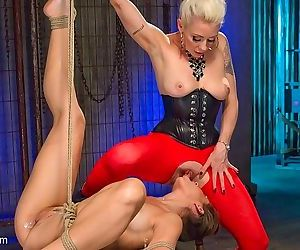 Cassidy klein is rope bound and electro toyed by lezdom lorelei - part 1838