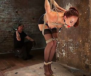 Chanel preston stockings babe in spider rope bondage is made to - part 2849