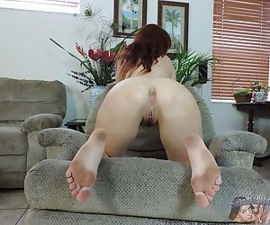 Sexy redhead milf lauren phillips spreading pussy - part 172