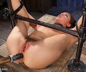 Gabriella paltrova is suspended and completely bdsm helpless her - part 2850