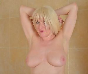 Busty mature babe jade wilson naked in black stockings - part 132