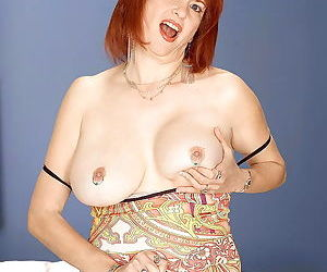 Busty redhead mom oral angie playing with tits - part 626